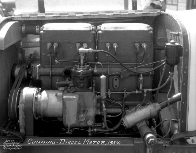 Cummins Diesel Engine 1934